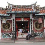 Chinatown in Malacca Malaysia