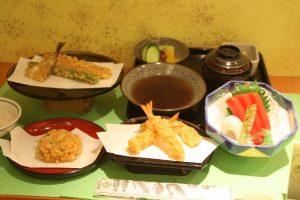 Hageten Tempura Restaurant in Shinjuku Tokyo