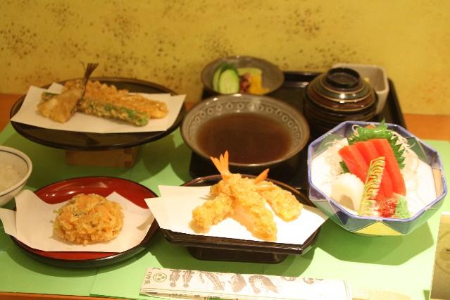 Ginza Hageten Tempura Restaurant in Shinjuku Tokyo