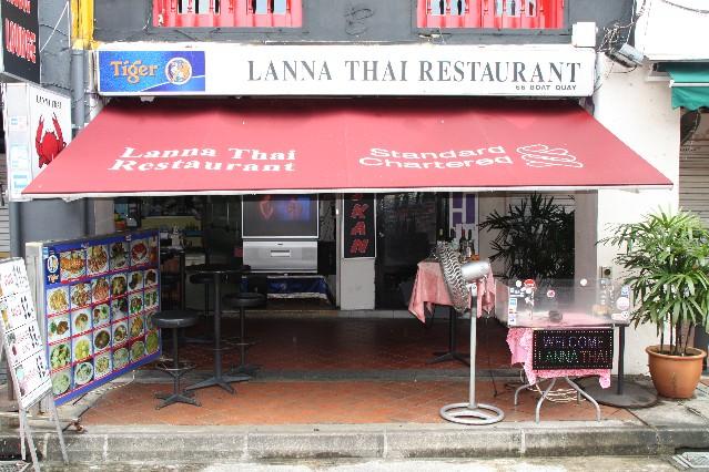 Lanna Thai Restaurant at Boat Quay Singapore